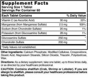 Glucosamine/Chondroitin Complex