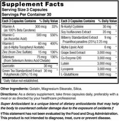 Antioxidant Super High-Potency with Lutein