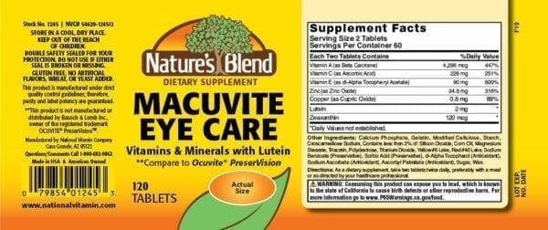 macutive eye care