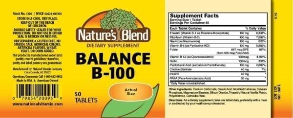 balance b100