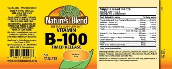 vitamin b100
