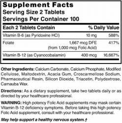 Vitamin B Complex with Folic Acid