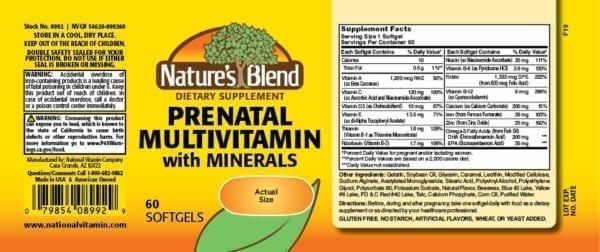 prenatal multivitamin with minerals
