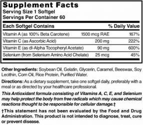 Antioxidant Super with Vitamins A/C/E