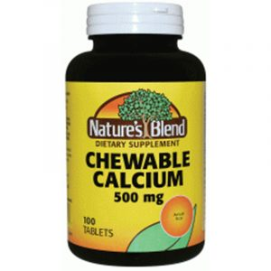 Calcium Chewable 500 mg