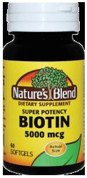 biotin vitamin 5000 mcg