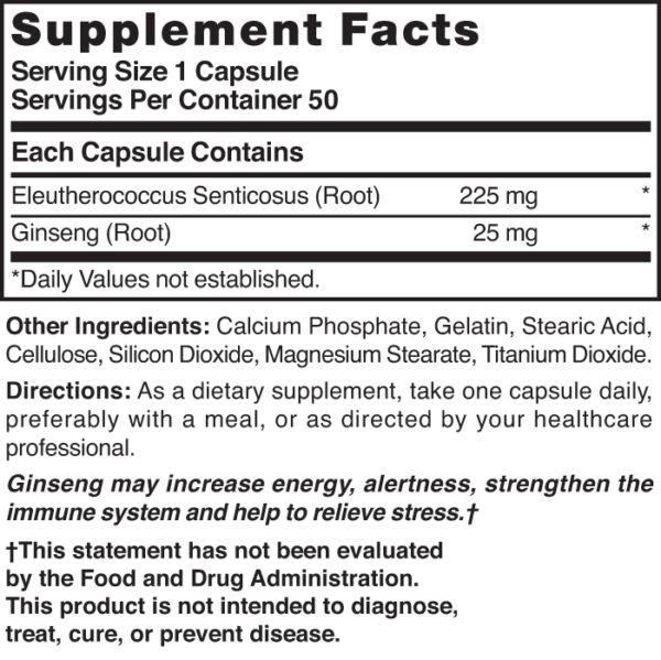 Ginseng 250 mg