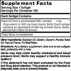 Garlic 500 mg
