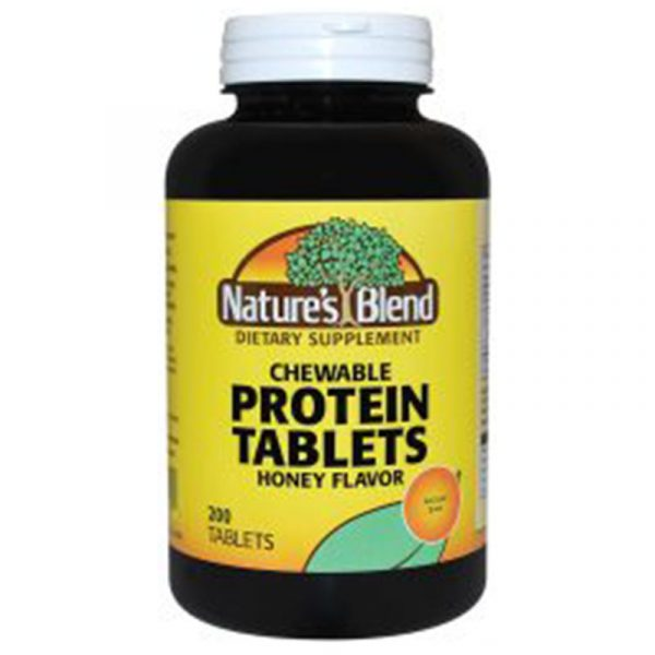 Protein Tablets Chewable Honey Flavor