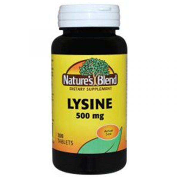 Lysine 500 mg