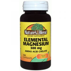 Magnesium Elemental 300 mg