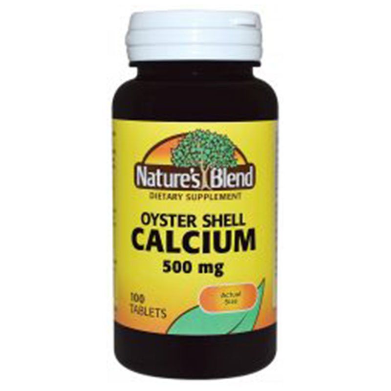 Calcium Oyster Shell 500 mg