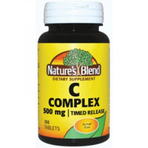 Vitamin C Complex 500 mg Timed Release
