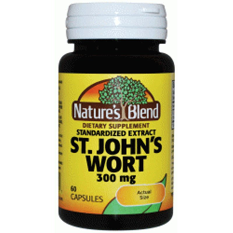 St. John's Wort Extract 300 mg