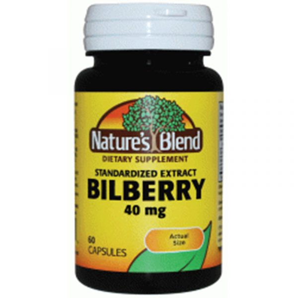 Bilberry Extract 40 mg