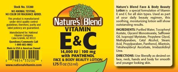 vitamins e and c