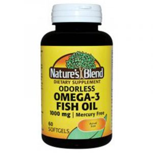 Omega-3 Fish Oil 1000 mg Odorless Enteric Coated