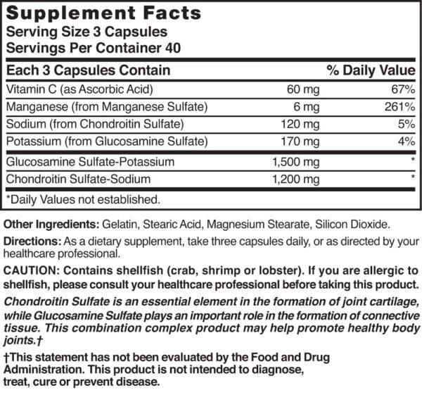 Glucosamine Chondroitin Maximum Strength