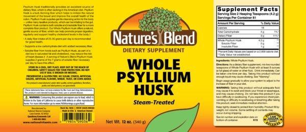 whole psyllium husk