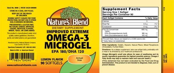 omega 3 microgel