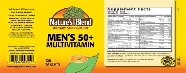 men's 50+ multivitamin