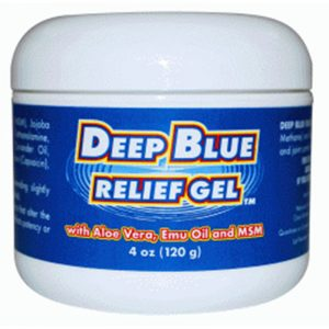 Deep Blue Relief Gel