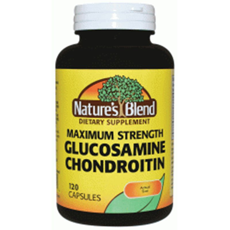 Glucosamine/Chondroitin Maximum Strength