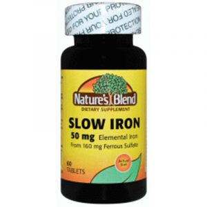 Slow Iron 50 mg