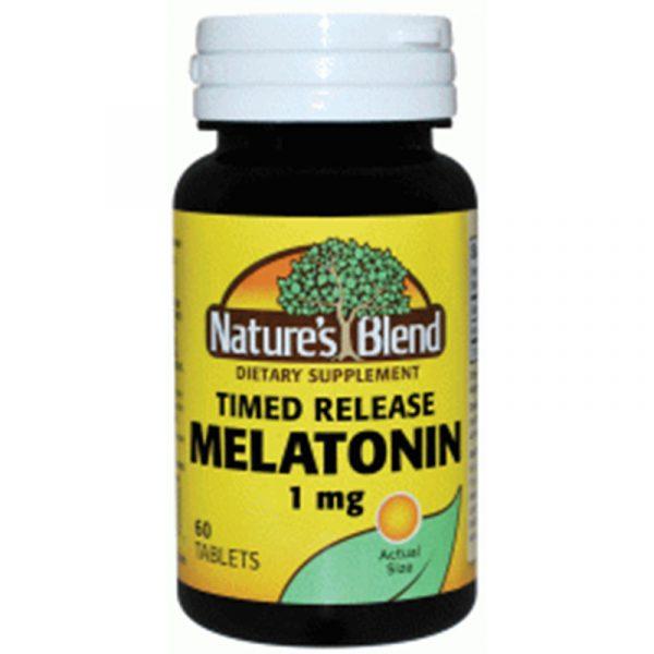 Melatonin 1 mg Timed Release