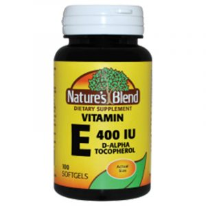 Vitamin E d-Alpha 286 mg