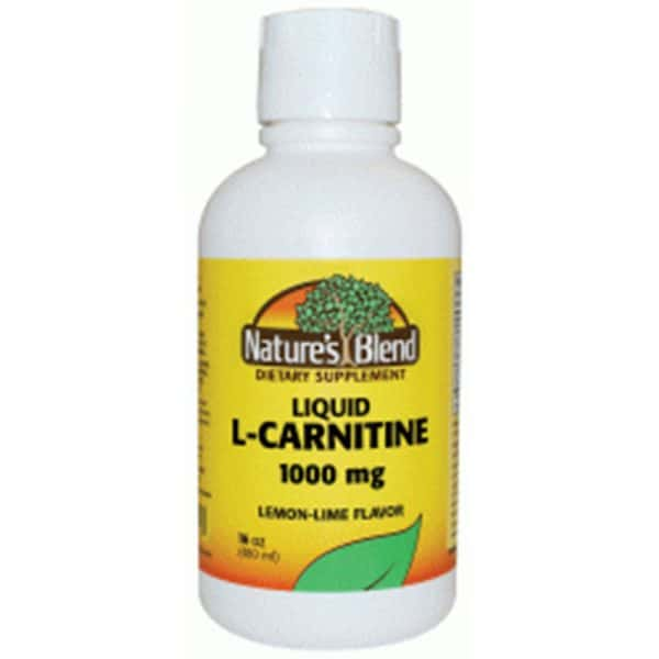 L-Carnitine Liquid 1000 mg Lemon-Lime