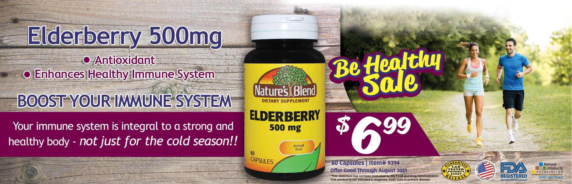 Elderberry sale